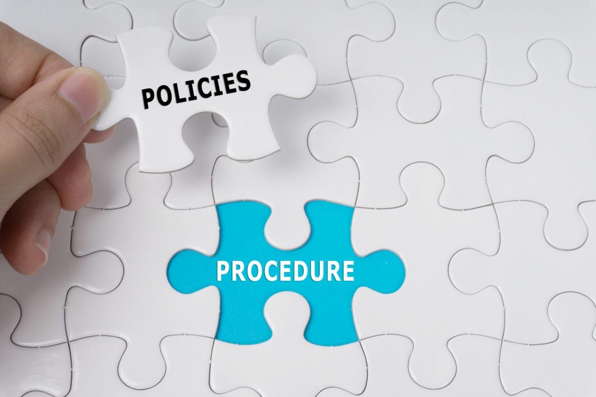 Procedures-policies